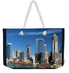 Seattle, Wa, Fine Art Print Weekender Tote Bag by Greg Sigrist