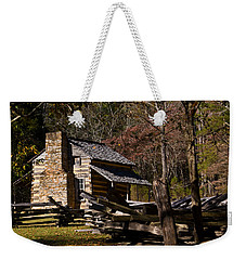 Settlers Cabin Cades Cove Weekender Tote Bag