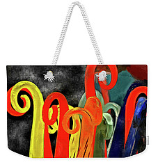 Seuss' Canes Weekender Tote Bag by Trish Tritz