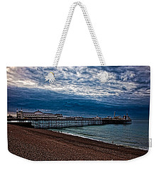 Seven Am On Brighton Seafront Weekender Tote Bag