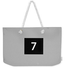 Weekender Tote Bag featuring the photograph Seven by Christi Kraft