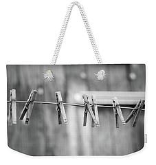 Seven Clothes Pins Weekender Tote Bag