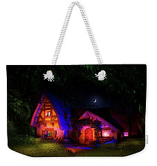Seven Dwarves Cottage Weekender Tote Bag by Mark Andrew Thomas