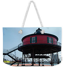 Seven-foot Knoll Lighthouse Weekender Tote Bag