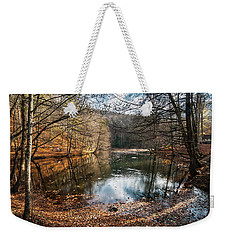 Weekender Tote Bag featuring the photograph Seven Lakes by Okan YILMAZ