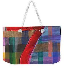Seven Of Plaid Weekender Tote Bag