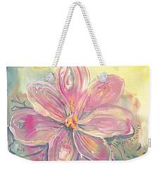 Seven Petals Weekender Tote Bag