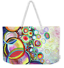 Seven Truths Weekender Tote Bag by Polly Castor