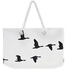 Sevenfold Geese Weekender Tote Bag