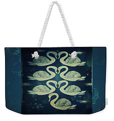 Seventh Day Of Christmas Weekender Tote Bag