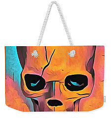 Weekender Tote Bag featuring the digital art Sex Drugs And Rock N Roll by Floyd Snyder