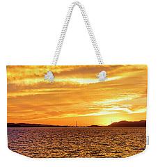 Sf Bay Area Sunset Weekender Tote Bag