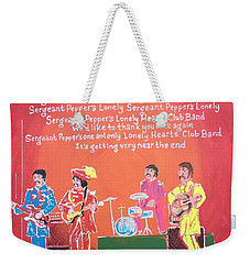 Sgt. Pepper's Lonely Hearts Club Band Reprise Weekender Tote Bag
