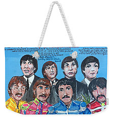 Sgt.pepper's Lonely Hearts Club Band Weekender Tote Bag