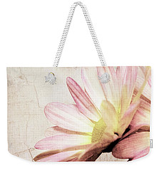 Shabby Pink Daisy Petals Dreamy Soft Romantic Floral Weekender Tote Bag