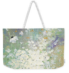 Shabby Seven Weekender Tote Bag by Laura Lee Zanghetti
