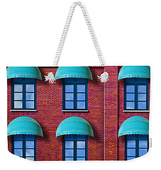 Weekender Tote Bag featuring the photograph Shade by Paul Wear