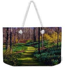 Shaded Spring Stroll Weekender Tote Bag