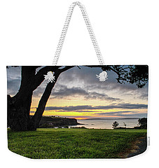 Shaded Sunrise Weekender Tote Bag