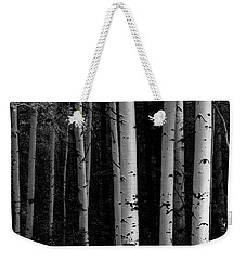 Weekender Tote Bag featuring the photograph Shades Of A Forest by James BO Insogna