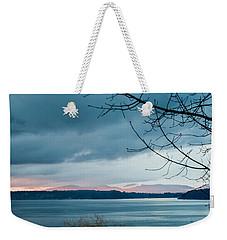 Shades Of Blue As Night Falls Weekender Tote Bag