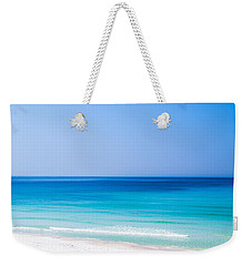 Shades Of Blue Weekender Tote Bag by Shelby  Young