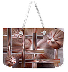 Weekender Tote Bag featuring the photograph Shades Of Coffee by Trena Mara