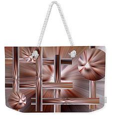 Shades Of Coffee Weekender Tote Bag by Trena Mara