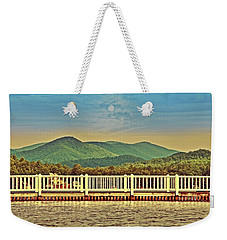 Shades Of Evening Weekender Tote Bag