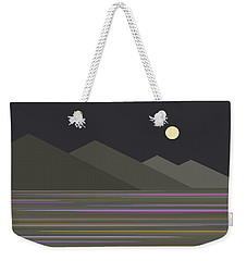 Shades Of Gray At Night Weekender Tote Bag