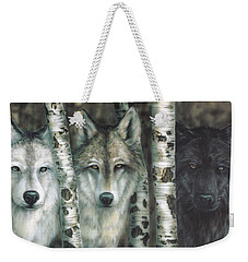 Shades Of Gray Weekender Tote Bag