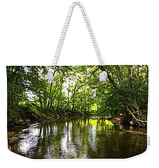 Shades Of Green Weekender Tote Bag by Susan Leggett