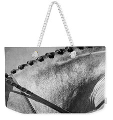 Shades Of Grey Fine Art Horse Photography Weekender Tote Bag