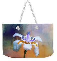 Shades Of Iris Weekender Tote Bag by Carolyn Marshall