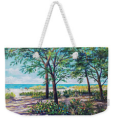 Shades Of Longboat Key Weekender Tote Bag by Lou Ann Bagnall