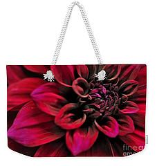 Shades Of Red - Dahlia Weekender Tote Bag