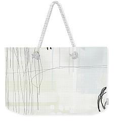 Shades Of White 1 - Art By Linda Woods Weekender Tote Bag