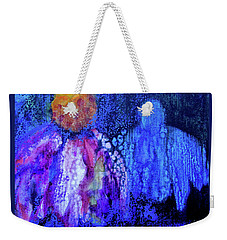 Shadow Abstract Bloom Weekender Tote Bag