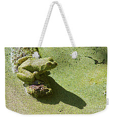 Shadow And Frog Weekender Tote Bag