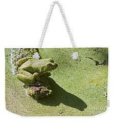 Shadow And Frog Weekender Tote Bag