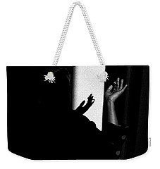 Shadow And Polka Dots Weekender Tote Bag by Hugh Smith