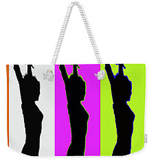 Shadow Dancers In A Row Weekender Tote Bag