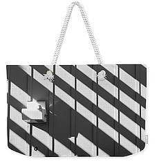 Weekender Tote Bag featuring the photograph Shadow by Jingjits Photography