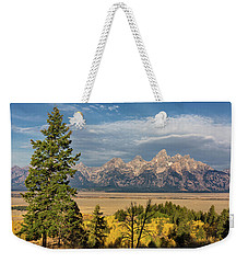 Shadow Mountain Morning Weekender Tote Bag
