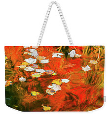 Shadow Of The Red Dragon Weekender Tote Bag