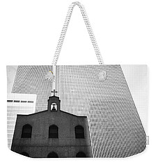 Shadow Of World Trade Center Weekender Tote Bag