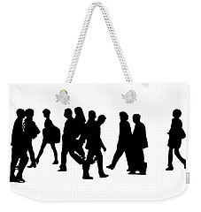Shadow People Weekender Tote Bag by Gary Warnimont