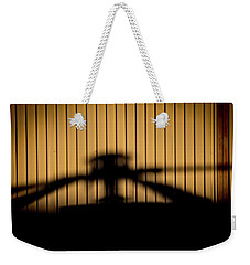 Weekender Tote Bag featuring the photograph Shadow Rotor by Paul Job
