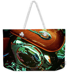 Weekender Tote Bag featuring the photograph Shadow by Samuel M Purvis III