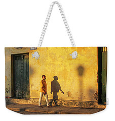 Shadow Walking Weekender Tote Bag